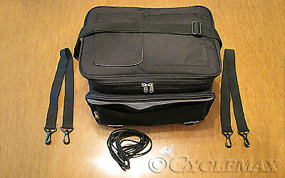 Motorcycle Cooler Rack (ANY MOTORCYCLE WITH A TRAILER HITCH RACK Deluxe Cooler Rack Bag (020-1806)  )