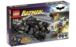 Wow! Lego 7888 Batman Tumbler: Joker's Ice Cream Surprise