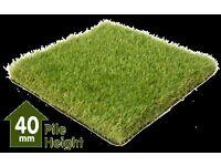 Artificial Grass/Astroturf Ascot Premium 40mm Brand New