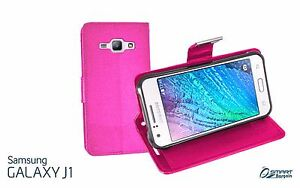 Samsung J1 / Ace Pink Leather Case Cover Plympton West Torrens Area Preview