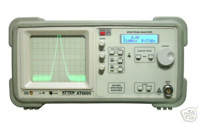 Atten Portable Analog Spectrum Analyzer 1ghz At6011 Tracking Generator Fast Sh