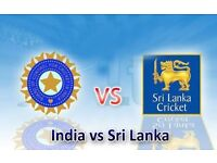 India vs srilanka icc champions trophy 2017 - silver tickets £65 each