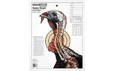 NEW! Champion Sight-In Life-size Turkey Paper Target (Pack of 12) (Champion Paper)