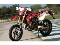 *MOTORCYCLE* 2017 Plate Rieju MRT 50 SM Pro. Warranty. Free Delivery. Main Dealer: