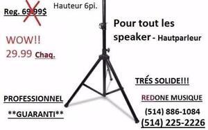 ***MEGA SPECIAL** NEUF* PROFESSIONAL SPEAKER STAND --- METAL *** TRPIED HAUT-PARLEUR !!!