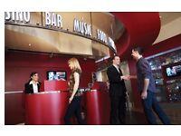 Receptionist - Grosvenor Casino Cardiff