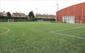Play casual 8 a side football every Thursday 7