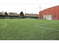 Friendly football sessions in Putney. Every week, looking for new players!