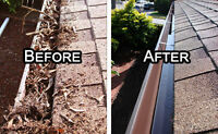 Gutter Cleaning and small Repair Starting at $120