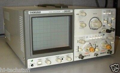 Kikusui 40 Mhz 2-channel Oscilloscope Cos5040