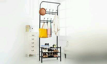 NEW COAT STAND WITH SHOE RACK