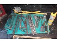 Selection Of Pumbing Tools For Quick Sale