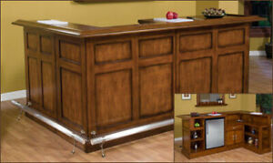 In Stock Now!! Hardwood Home Bars, Stools and More!