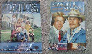"""Original """"Dallas"""" Seasons 1&2 or Simon & Simon Season 2 on DVD"""