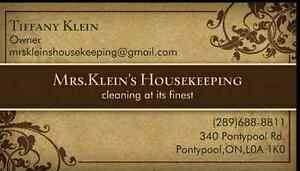 Housekeeping spots available  Peterborough Peterborough Area image 1