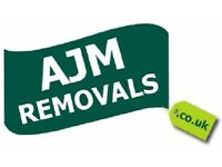 Moving House? AJM Removals Bristol- Fully Insured Removals & Packing Services/Man with a Luton van