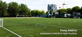 Wednesday football casual game in Harlesden - new players needed
