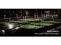 Weekly Game @ Shepherds Bush, 5 a side game @ 12:30