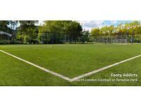 Bank Holiday Football in North London