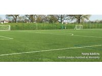 Casual football in Wembley area every Thursday 7.45