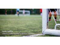 Friendly football on Upper Street (Angel/Highbury) needs players!