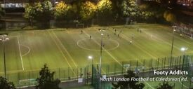 Friendly 8-a-side football at Market Road Pitch in Islington on Tuesday 7pm Looking for more players