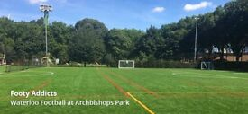 Saturday casual football in central London needs players - 4G pitch