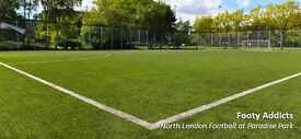 7 v 7 Casual Football, Islington area