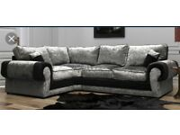 Luxurious Scs Ashley sofa # FREE FOOTSTOOL #