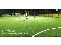 Casual Football   5 aside   Islington   Tuesday Evenings