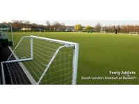 Football players wanted in Dulwich, all levels welcome