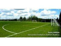 WEEKEND FOOTBALL STRATFORD - 8 a side - players wanted for casual games.