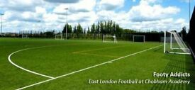 Weekend football stratford (8 a side players wanted for casual games).