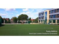 Looking for 7-a-side players in Greenwich! £6 per person