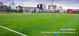 Casual weekly game in Wembley Park needs players!