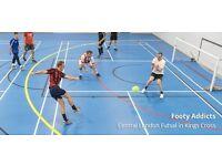 Wednesday Evening 5/6 a side Futsal | Casual Footy | King's Cross
