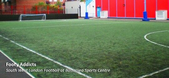 Casual 5-a-side in Battersea every Thursday. Looking for