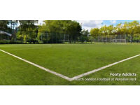 Sunday evening social football in Highbury. Looking for players