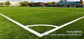 Players Needed: Casual Football near Caledonian Road   Friday 3.45pm