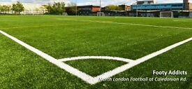 Casual Football near Caledonian Road tomorrow- Players Needed!