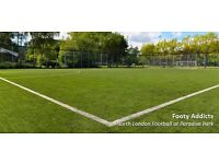 7aside Casual Football in Islington on Tuesday Afternoons