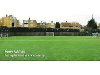 Looking for 7-a-side players in South West London! £6 per person