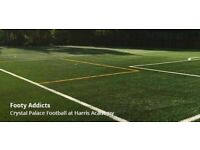 Friendly football in Crystal Palace. Weekly game, everyone welcome to join!