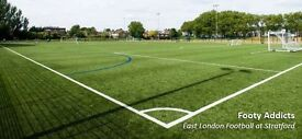 Play football in London