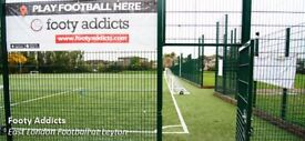 Looking for casual football players every Tuesday at 8 pm in Leyton! £6.50 per person