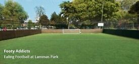 Friendly 5-a-side football in Ealing. All welcome!