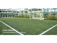 Friendly Football Games 8-a-side, Monday-Tuesday-Thursday in Putney, looking for more players!