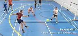 Friday Indoors FIVE-A-SIDE | New Game