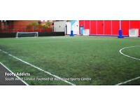 Casual 5/6-a-side game at Battersea Sports Centre (5mins walk from Clapham Junction)