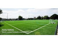 8-a-side football in Wood Green, every Tuesday at 7.30pm